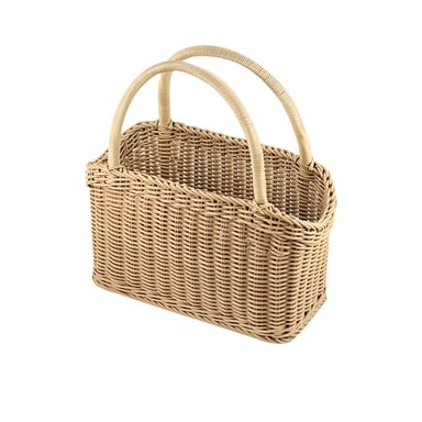 Iconchef Hand Woven Carry Basket 46cm Bunnings Warehouse
