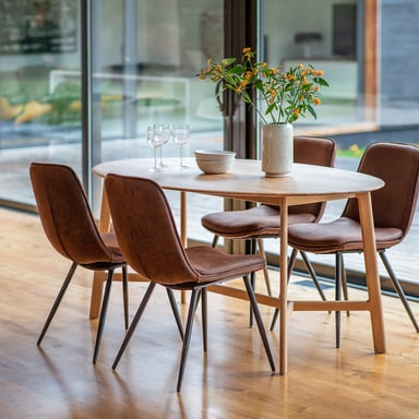 Bentley 6 Seater 1800 X 1000 X 760mm Dining Table Bunnings Warehouse