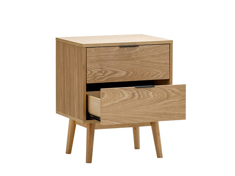stella oak 2 drawer bedside table p